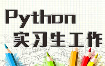 python实习生工作